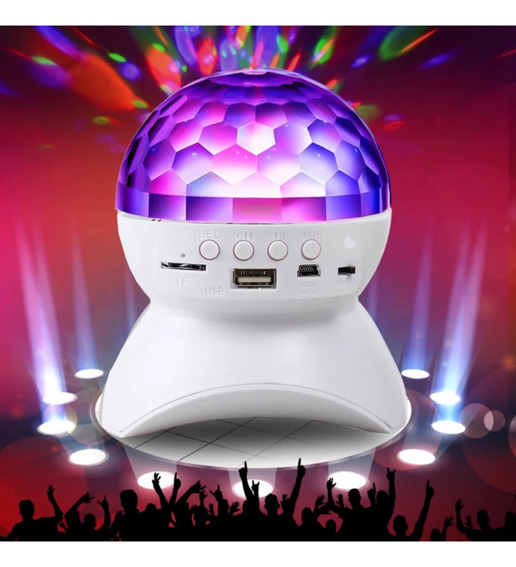 Wireless bluetooth colorful speakers and microphones