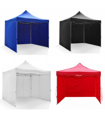 3*3m Much Stronger Gazebo  with walls, Blue, red, white, black